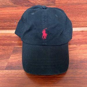 Ralph Lauren adjustable cotton baseball cap